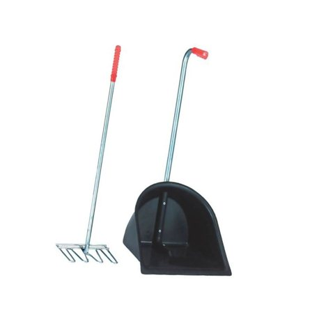 Zestaw do sprzątania obornika Mistboy, 75 cm