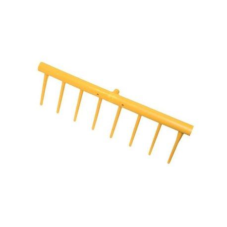Grabie z PCW nieoprawne Jost, element wymienny 8 zębów Jost Kunststoffrechen
