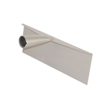 Zgarniacz oborowy z blachy stalowej, 350 mm