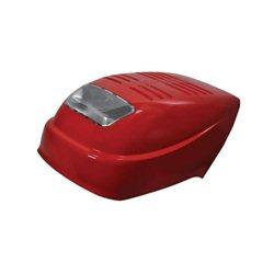 3820768172 Zestaw pokrywy czerwony Castelgarden