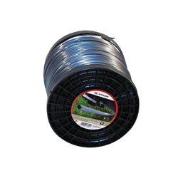 Żyłka nylonowa 4-kątna szara Titanium Power , 2.5 mm 185 m