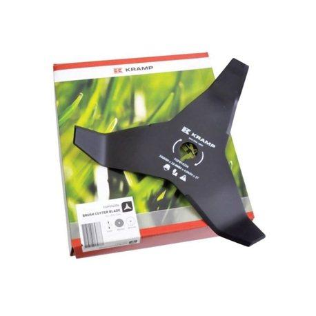 Nóż do kosy mulczujący 3 zęby , 300-25.4 - 4 mm