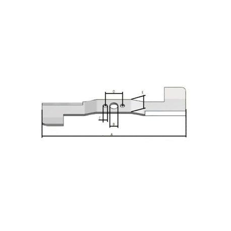 "18/"" KOMATSU PC60 PC75 PC78 PC88 EXCAVATOR RUBBER TRACK ROADLINER PADS 450mm"
