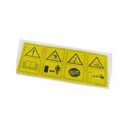 Etykieta bezpieczeństwa Wolf-Garten 0051-225, 0051-210