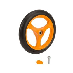 Wheel Ø200 &amp screw cap AS-Motor