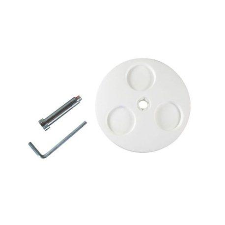 Zestaw sworzni koła, białe 165 mm Stiga 1117-3230-02