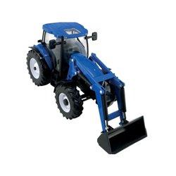 Traktor New Holland T6.180 z ładowaczem czołowym Britains  B43148A1