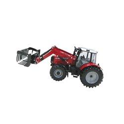 Traktor Massey Ferguson 6430 z ładowaczem Britains  B42761