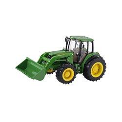 Traktor Big Farm John Deere 6830 z bliźniaczymi oponami i ładowaczem Britains  1994TM42425