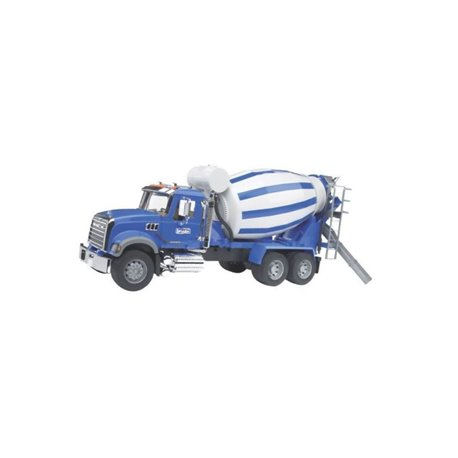 Ciężarówka Mack betoniarka Bruder  U02814