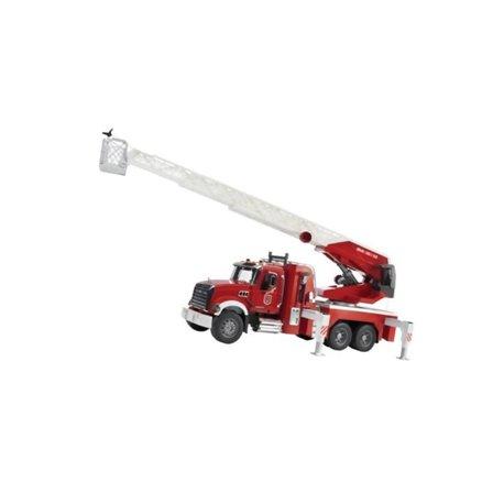 Wóz strażacki MACK Granite z pompą wodną Bruder  U02821