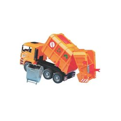 MAN REFUSE TRUCK ORANGE Bruder  U02760