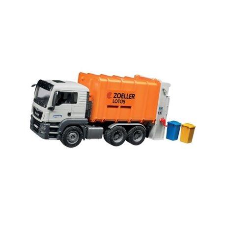 Śmieciarka MAN TGS pomarańczowa Bruder  U03762