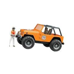 Jeep Cross-country pomarańcz. Bruder  U02542