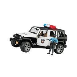 Samochód polic. Jeep Rubicon Bruder  U02527