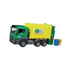 Śmieciarka MAN TGS żółta Bruder  U03764