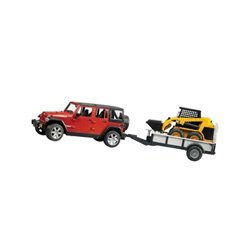 Jeep  przyczepa jednoosiowa Bruder  U02925
