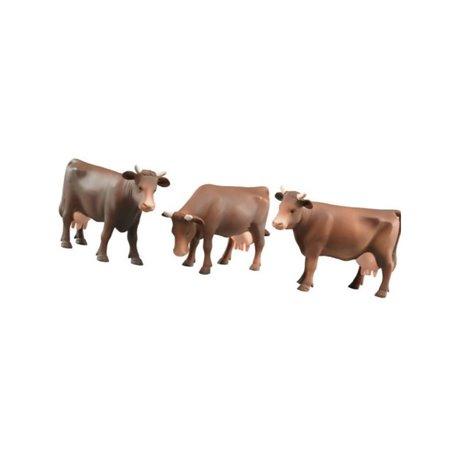 Zestaw krów, brązowa (16 sztuk) Bruder  U02308