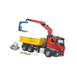 Zabawka ciężarówka dźwig - ładowacz MB Arocs Bruder  U03651