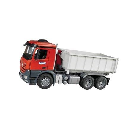 Zabawka samochód ciężarowy MB Arocs, z kontenerem Bruder  U03622