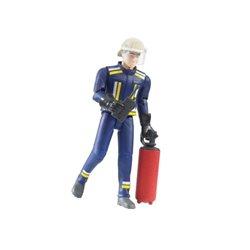 Figurka strażaka z gaśnicą Bruder  U60100