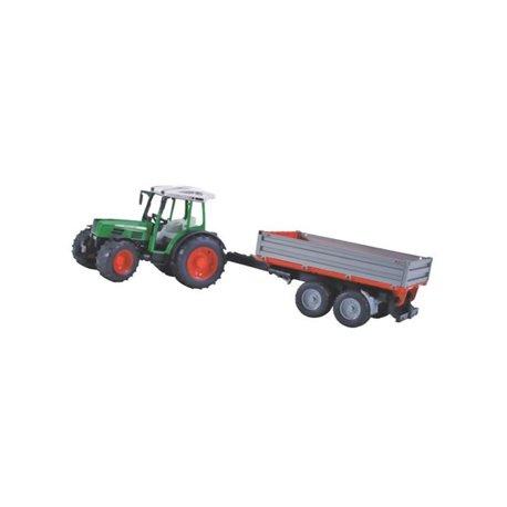 Traktor Fendt 209 S z przyczepką Bruder  U02104
