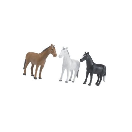 Konie (16 sztuk w 3 kolorach) Bruder  U02306