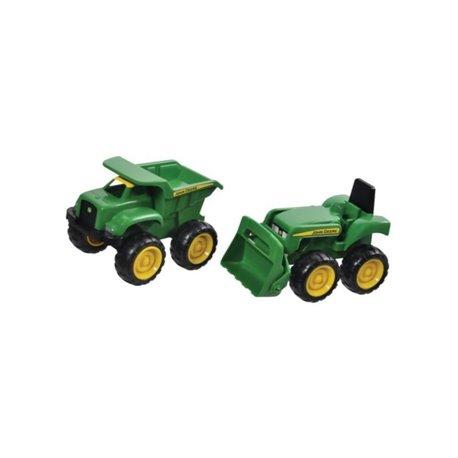 Zabawka Tomy mini ładowarka John Deere  mini wywrotka JD Big Scoop Ertl  E42952