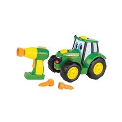 Traktorek z wiertarką – zestaw do samodzielnego składania Ertl  E46655