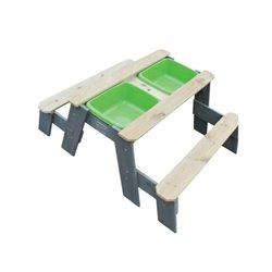 Stół piknikowy  z 2 ławkami Exit  52051005EX