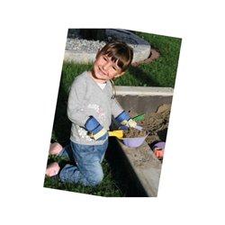 Rękawice Junior, niebieskie, roz. 6-8 Keron  HS29784