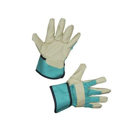 Rękawice Junior, zielone, roz. 4-6 Keron  HS29783
