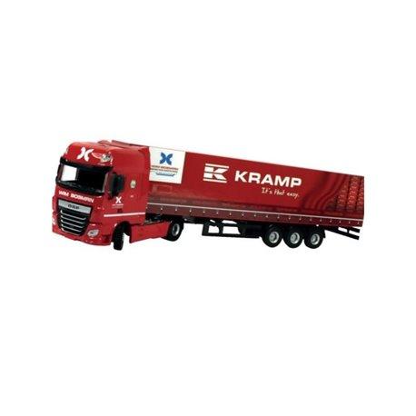 Ciężarówka transportowa  ciągnik z naczepą 1:50   KRA450600013