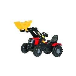 Ciągnik Case z napędem na pedały i ładowaczem Rolly Toys  R61106