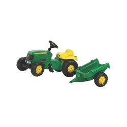 Traktor Rolly Kid John Deere z przyczepą Rolly Toys  R01219