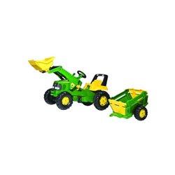 Traktor John Deere z przyczepą i ładowaczem Rolly Toys  1993811496