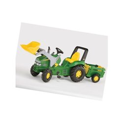 Traktor rolly X-Trac John Deere z ładowaczem i przyczepką, rollyFarm Rolly Toys  1993049523