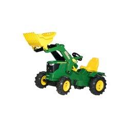 Ciągnik z napędem na pedały John Deere i ładowaczem czołowym Rolly Toys  R61110