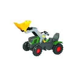 Ciągnik Fend z napędem na pedały i ładowaczem Rolly Toys  R61105