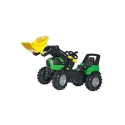 Ciągnik Deutz-Fahr z napędem na pedały i ładowaczem Rolly Toys  R71003