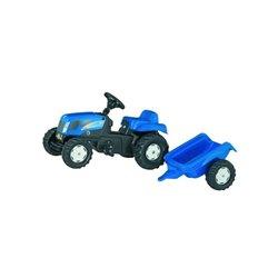 Ciągnik New Holland z napędem na pedały i z przyczepką Rolly Toys  R01307