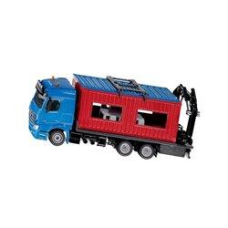 Ciężarówka z kontenerem mieszkalnym Siku  S03556