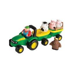 Zestaw zabawek z traktorkiem JD Ertl  E34908