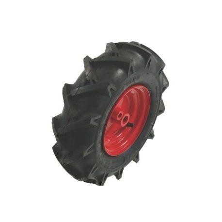 Koło 350x6, lewe, czerwone Roques et Lecoeur 190062413