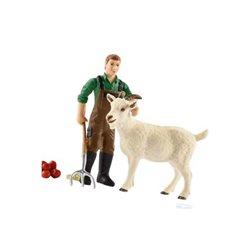 Farmer z kozą Schleich  42375SCH