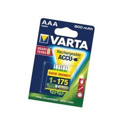 Akumulator HR03 Varta, 1,2 V, 800 mAh, 2 szt. VARTA Consumer Batteries  VT567032