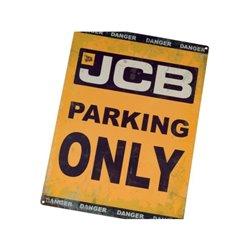 Plakat JCB Parking Only Tractorfreak  TTF9192