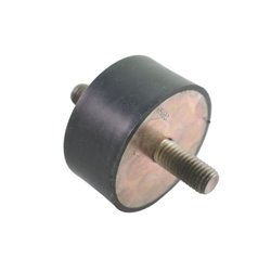 Zderzak metalowo-gumowy 60x30 M12 Agria AGW26416