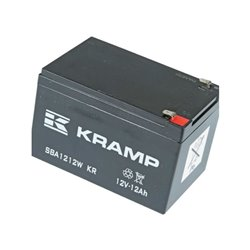 Akumulator, 12 V, 12 Ah, zamknięty  Wolf: 4911-055