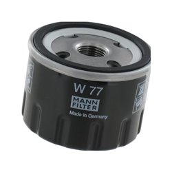 Filtr oleju, M&ampH MANN-FILTER W 77